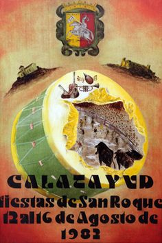Fiestas San Roque Calatayud  1982