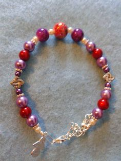 """In loving memory of Mrs Barbara Duncan, my lovely Gran, who will always be in my heart. One a day, Made with love presents today's bracelet 30/04/15. - Love Always for Love is forever – bracelet's £9.00 plus p&p. Please visit """"Local Dundee Designers"""", """"Lovingly Designed Bracelets by Susie with Fibromyalgia"""" and my page Susan McLaughlin to see bracelets made with love."""
