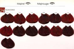 Tinte loreal rojos caobas