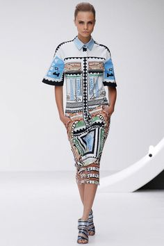 Mary Katrantzou Spring 2013 Ready-to-Wear Collection Slideshow on Style.com