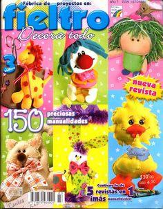 FABRICA DE PROJETOS EM FELTRO - REVISTAS DIVERSAS - Picasa Webalbums