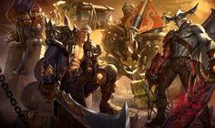 Bilgewater Skins - League of Legends, SIXMOREVODKA STUDIO on ArtStation at https://www.artstation.com/artwork/2LonB
