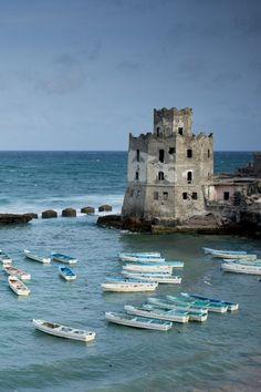 coisasdetere:  Mogadishu Lighthouse in Somalia.