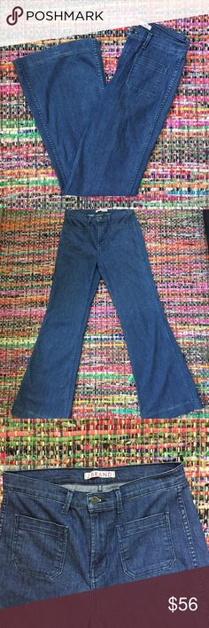 J Brand Mystery Jeans Preloved, but in Great Condition/ Feel free to ask any questions, make a reasonable offer, or add to a bundle for 15% 2 or more items 😃 J Brand Jeans Flare & Wide Leg