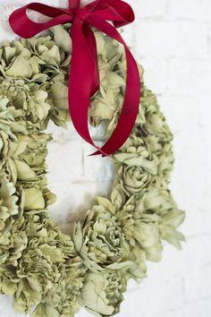 Corona Navidad Flores  : via La Chimenea de las Hadas