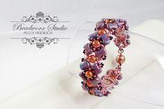 Návody   G&B beads Beaded Jewelry, Beaded Bracelets, Jewerly, Free Pattern, Beads, Rings, Floral, Studio, Fashion