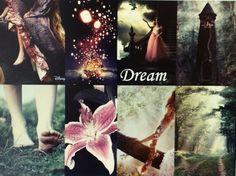 Fantasy Collages Number 7: Dream (Rapunzel)