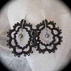 Cameo - Tatted Earrings