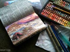 Seaweed Kisses: The Journal Diaries- Kolby's Hiking Journals | journal and mood board inspiration |  digital media arts college | www.dmac.edu | 561.391.1148