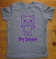 c1faa2fb1e6 Big Sister Shirt - 8 Colors Available - Kids Owl Big Sister T shirt Sizes  12 - Gift Friendly