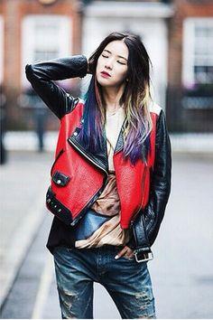 Street-Style /  Irene Kim wearing Acne / London