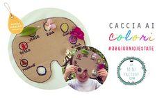 MiniFactory: Caccia ai colori Caccia al tesoro facile e veloce! DIY facile per un gioco divertente all'aria aperta! Kids summer DIY