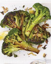 Caramelized Broccoli with Garlic