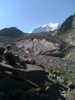 Today's Hike  Bridge out did not make it to the glacier but would be a great backpacking trip
