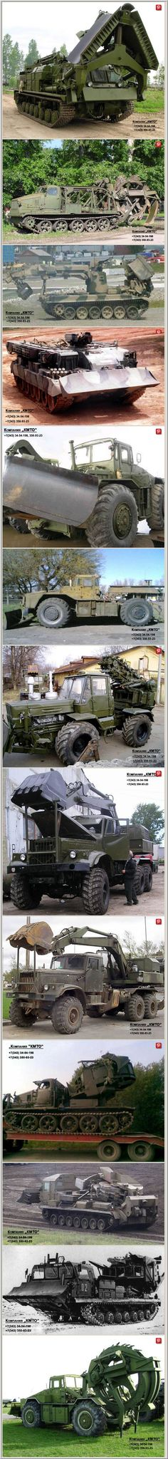 Russian military hardware