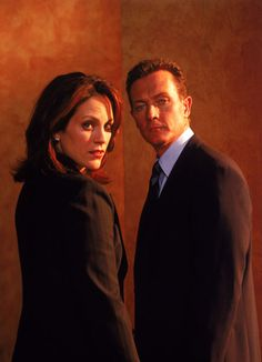 Doggett and Reyes. I loved Reyes, but hated that Mulder had to be gone for her to be there. :(
