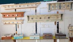 crafting+with+reclaimed+wood | Centsational Girl » Blog Archive Antiquing, New Friends, and Great ...