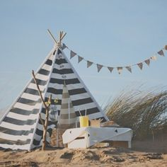 Enamoradas de los tipis de To the wild - DecoPeques