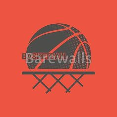 """Basketball illustration"" - Basketball posters and prints available at Barewalls.com"