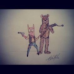 Star Wars, Tim Burton style.