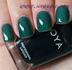 Scrangie: Zoya NYFW Gloss Collection Fall 2012 Swatches and Review - Zoya Nail Polish in Frida
