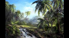 Have you ever wanted to learn how to paint palm trees? Kevin will show you some valuable techniques for painting palm trees that you can add to your own paintings! For more information about full length painting lessons, please visit: www.paintwithkevin.com