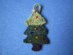Ravelry: Advent Garland 4, Tree pattern by Frankie Brown