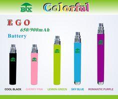 ego 650/900mAh colorful battery for e cigarette. website:http://www.btxego.en.alibaba.com e-mail:kiki@baotianxiang.com.cn skype:btxsales