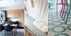 Vinyl flooring gets a bad rap for being an outdated, '60s throwback, but with a wave of fresh, contemporary designs hitting stores, it's proof that this interiors stalwart is continually improving in looks and performance.