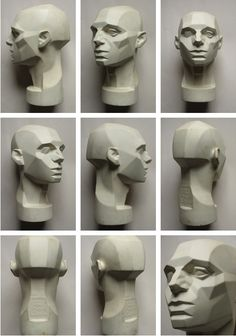 Planes of the face