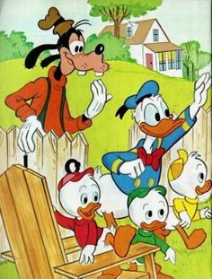 Donald Duck & Goofy from Mickey Mouse Little Golden Book (30 pieces)