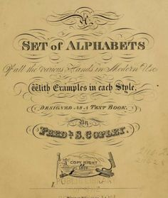 Image Result For A Completely Over The Top Victorian Title Page Everything Is Embellished And Flourished