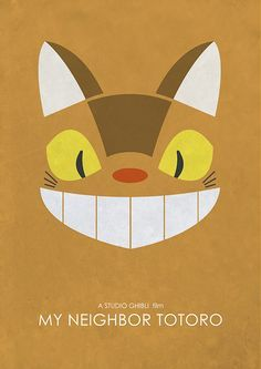 A collection of alternative movie posters inspired by the Studio Ghibli franchise including My Neighbor Totoro, Ponyo and Spirited Away. Studio Ghibli Art, Studio Ghibli Movies, Hayao Miyazaki, Chat Bus, Images Kawaii, Tales From Earthsea, T Movie, Fan Poster, Gaspard