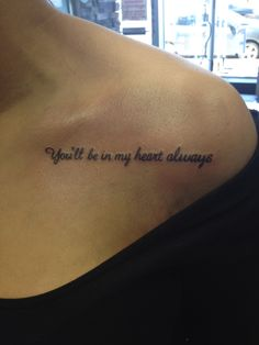 This has got to be the most delicate lettering I have ever seen in a tattoo. Beautiful.