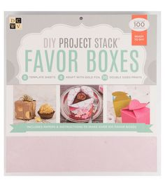 DCWV DIY Project Stack: Favor Boxes