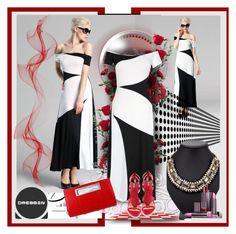 """dressin.com 29"" by jnatasa ❤ liked on Polyvore"