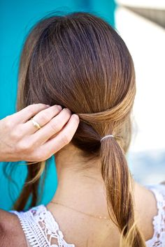 Try one of these genius workout hair ideas if you're heading to the gym after leaving the office!