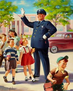 Crossing Guard, art by Art Frahm