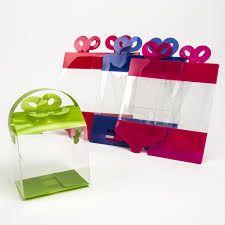 Resultado de imagen para cajas para regalos TRANSPARENTES