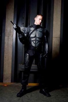 G.I. Joe Rise Of Cobra costume fitting of Duke