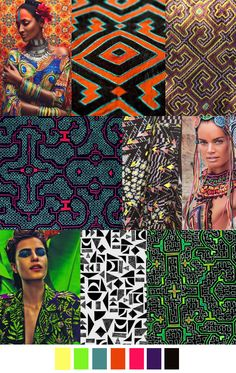 """Trends SS 2016 """"GLAMAZON"""" Pattern Curator"""