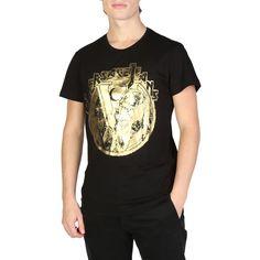 Versace Jeans B3GSB73D/_36598 Black Cotton T-shirts RRP £126