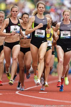 Olympic Trials Eugene 2012: Women's 1500 meters, Alice Schmidt. Photo © Kevin Morris Photography