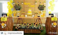 Resultado de imagen para decoracion de fiesta de abejas