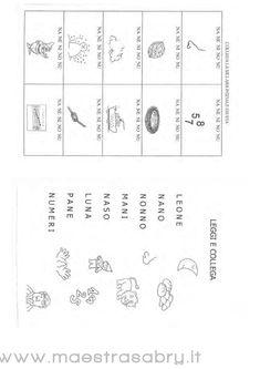 Lettere Ponte L M N R: Schede Didattiche per la Scuola