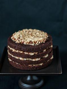 German Chocolate Cake I <3