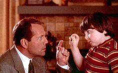 Bruce Willis and Spencer Breslin in Disney's The Kid - 2000 Kids Movies 2000, Kid Movies, Funny Movies, Disney Movies, Movies And Tv Shows, Bruce Willis, Excellent Movies, Great Movies, Epic Film