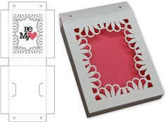 View Design: loopy lace gift box