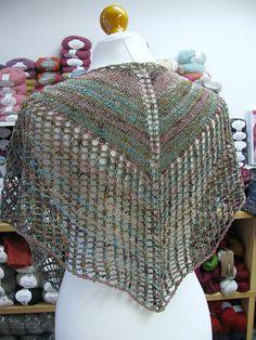 Ravelry: Super Eyelet Shawl pattern by Fiona Wright