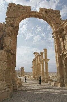 Ruinas  Palmyra  Siria